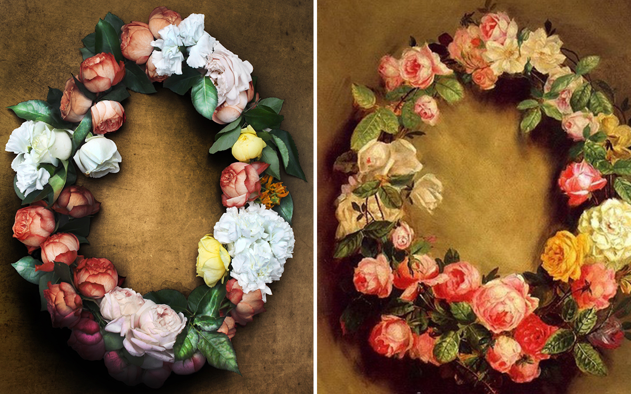 Boom Blooms — Behind the Great Masters. Renoir's Crown of Roses