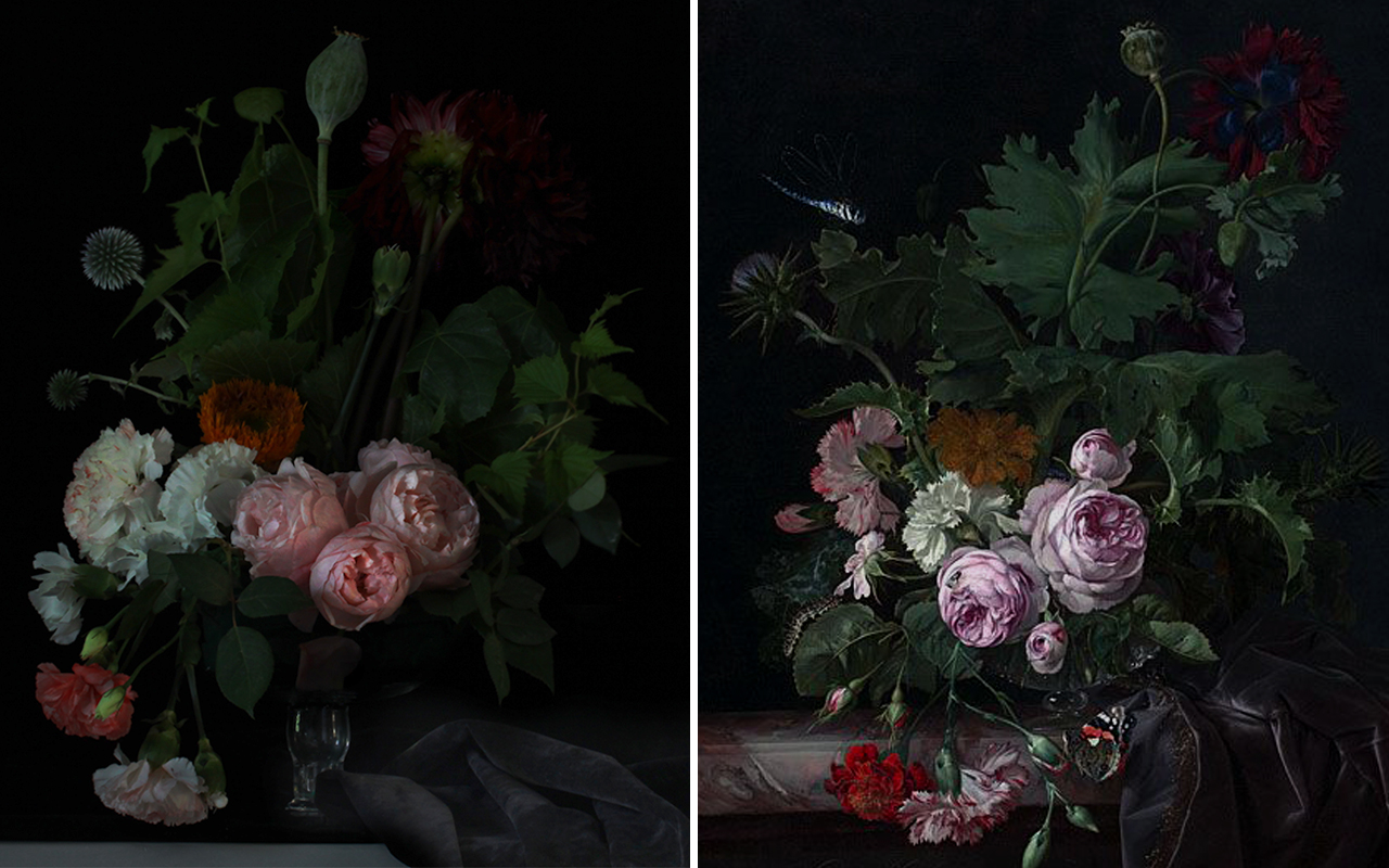 Boom Blooms — Behind the Great Masters. Willem Van Aelst